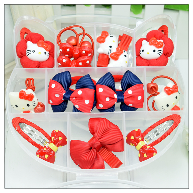 Color classification: Red-KT cat gift box set