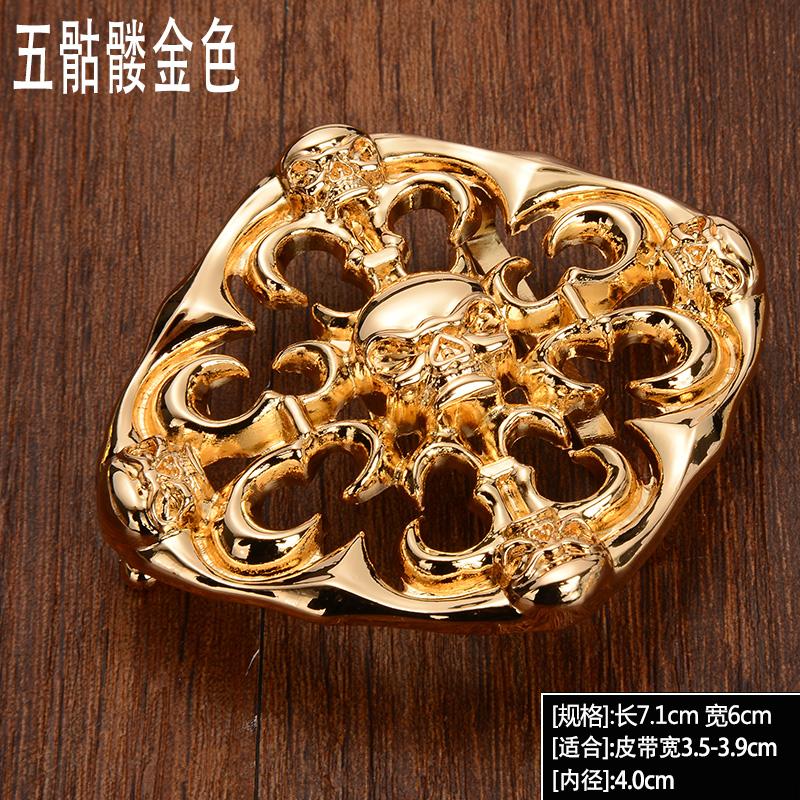 Цвет: Пять черепа золото