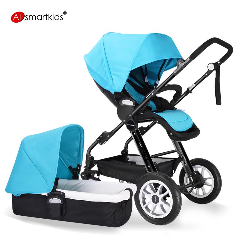 Самая компактная коляска для новорожденных