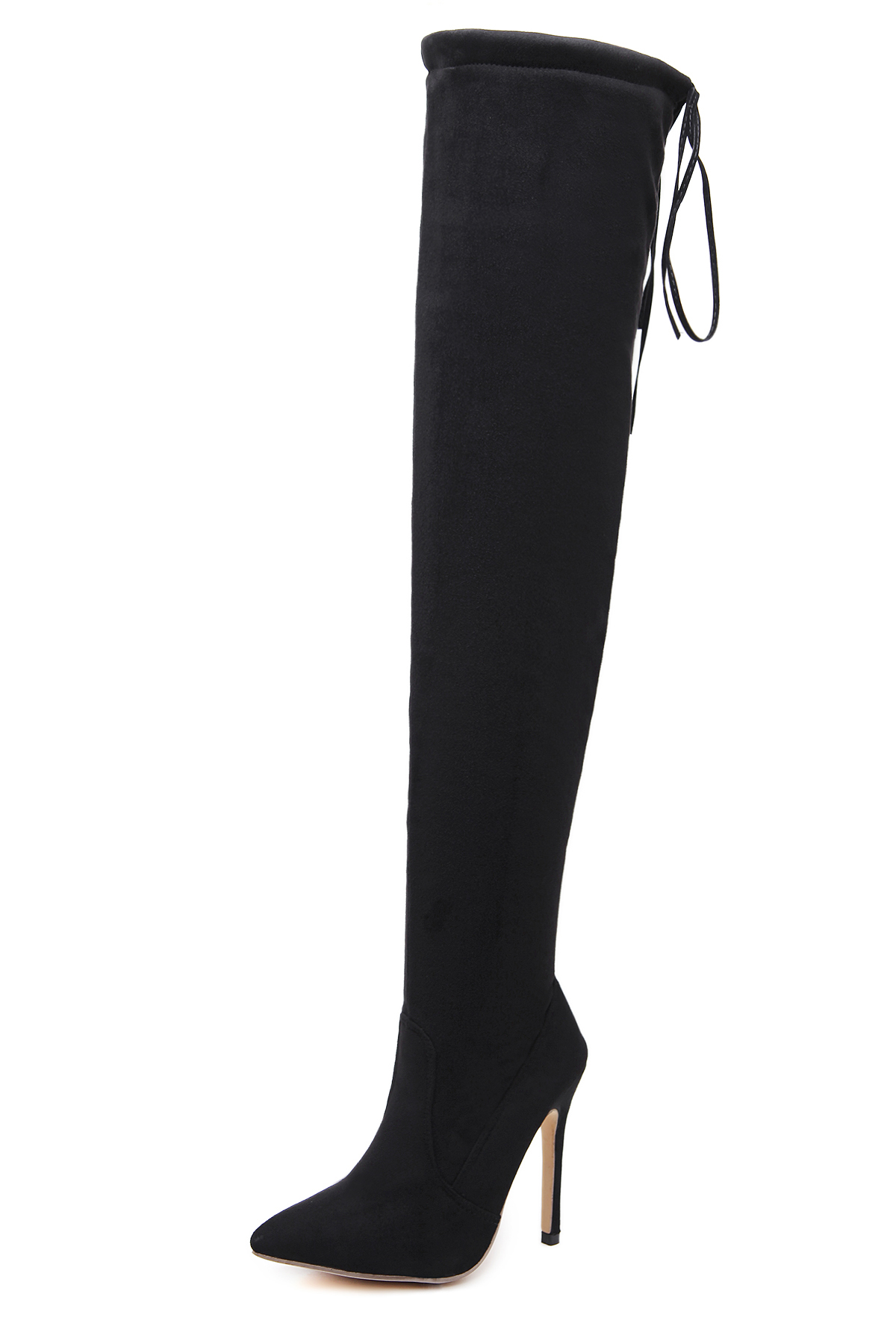 Over knee strap long boots's main photo