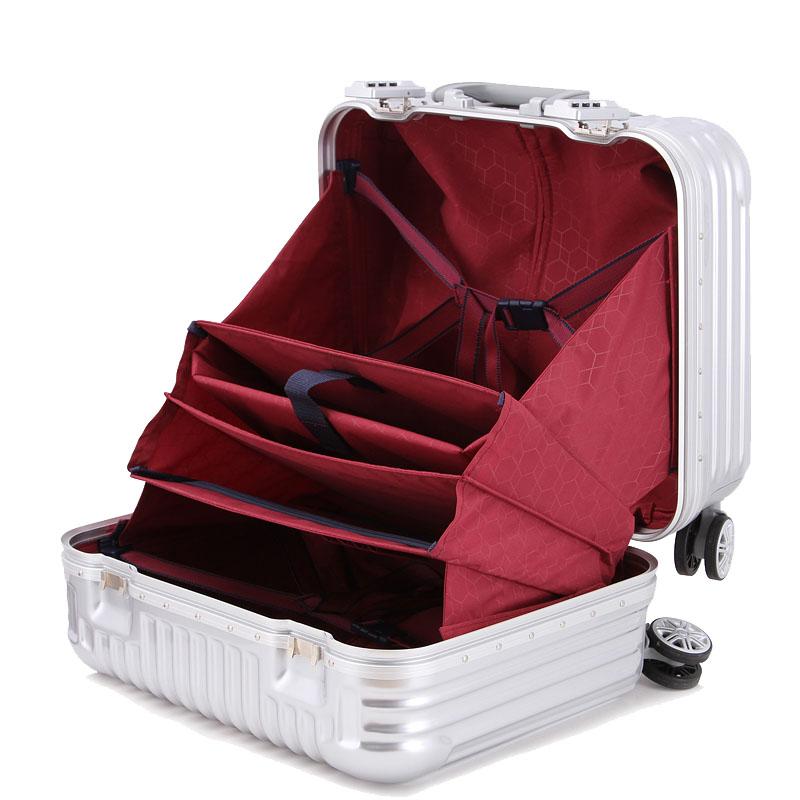 商务登机箱男旅行箱包女18寸拉杆箱万向行李箱子
