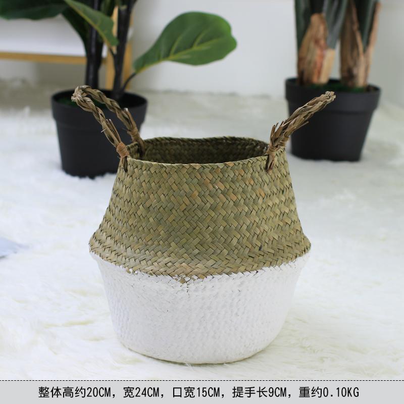 Цвет: Белый цвет сшивание небольшой корзины