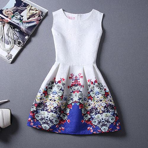 Цветы синие платье с доставкой