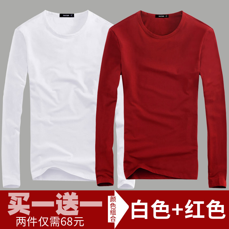 Color: T white + red