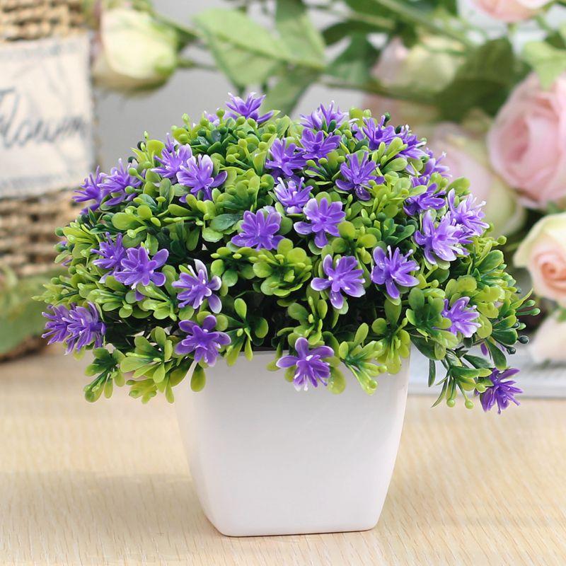 Цвет: Пять слой цветок фиолетовый