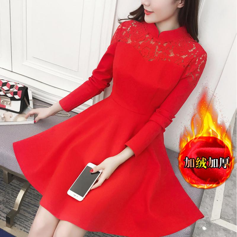 Цвет: Красный воротник регулярные манжеты (с начесом толщиной)
