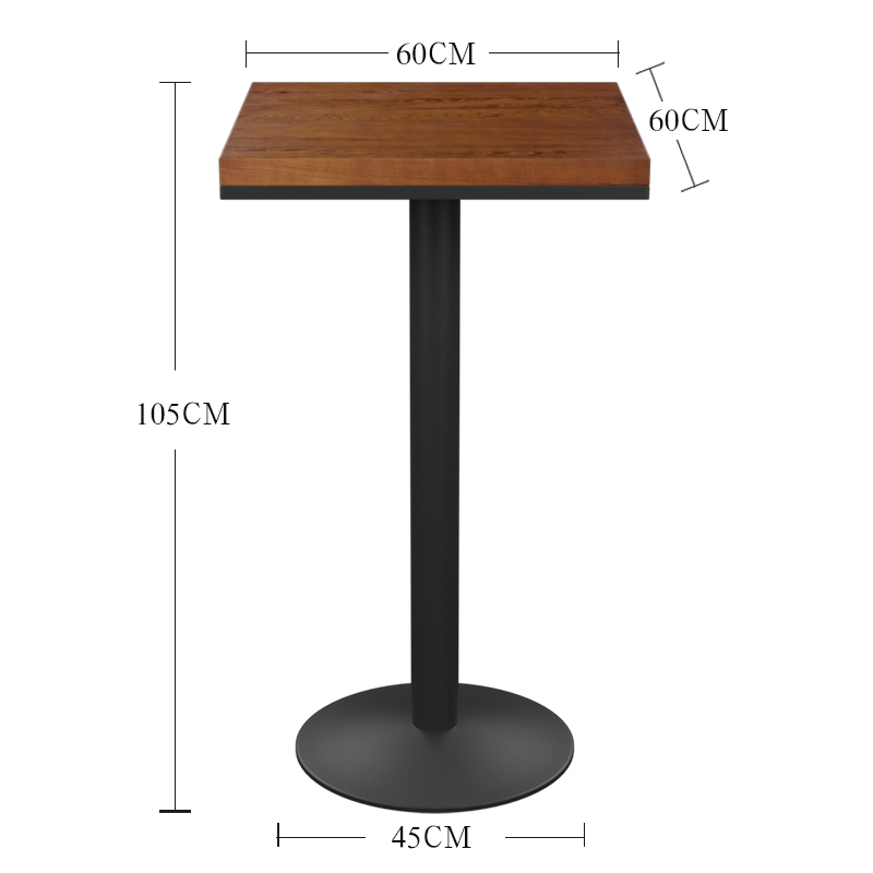 Цвет: 小方桌长宽60高度105