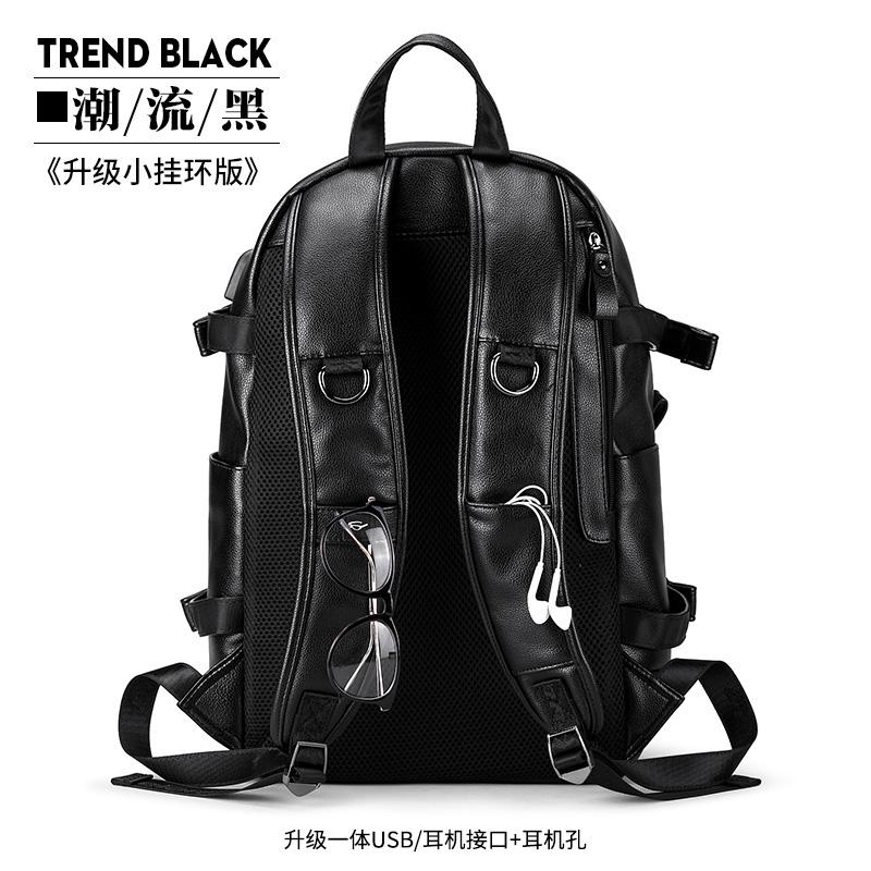 Цвет: Тенденция черный ln6021-6 (обновление USB+наушники отверстие+D пряжка)