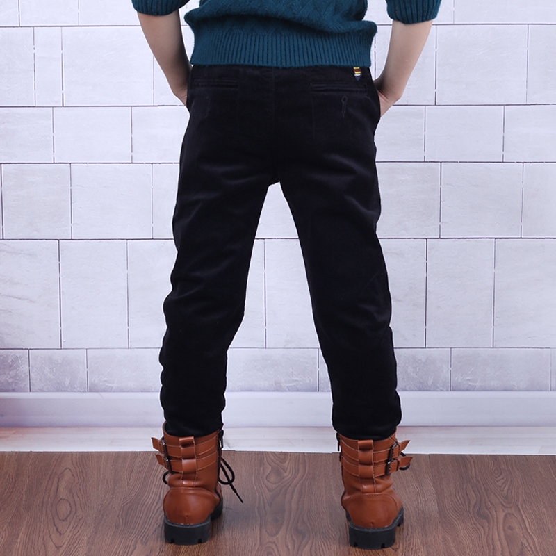 Color classification: Zang Hei black spring pants