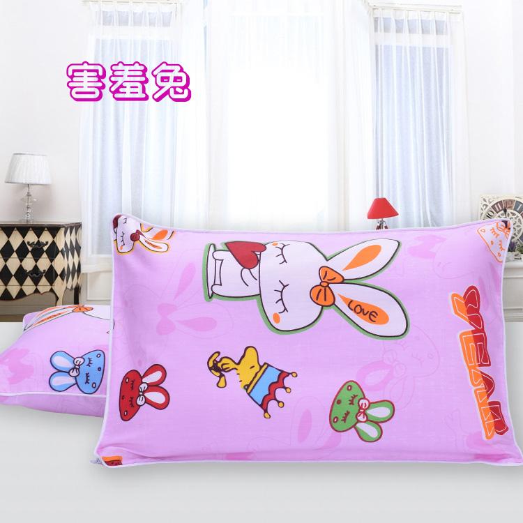 Цвет: Застенчивый кролик (подушка+наволочка)