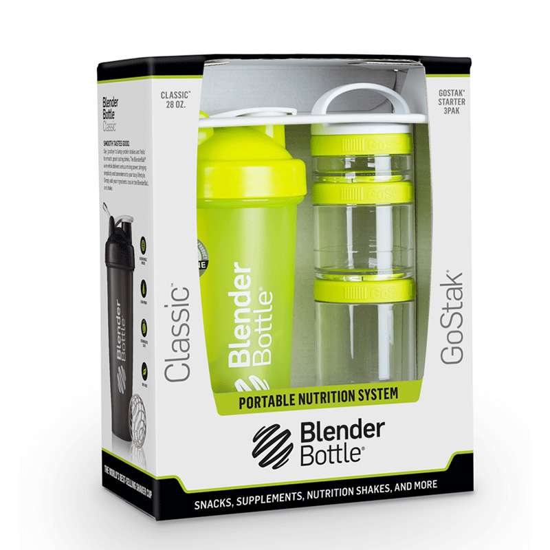 Шейкер BlenderBottle Classic Full Color 591ml Cyan BB-CL20-FCYA
