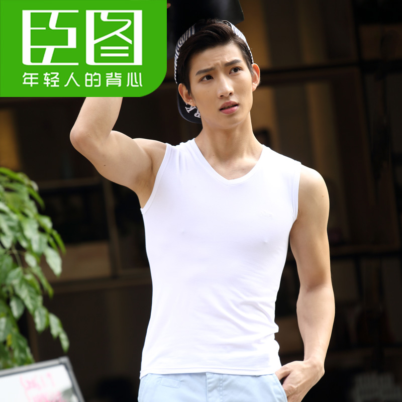 Color: V neck white