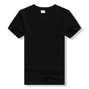 高品质圆领短袖100%纯棉T恤