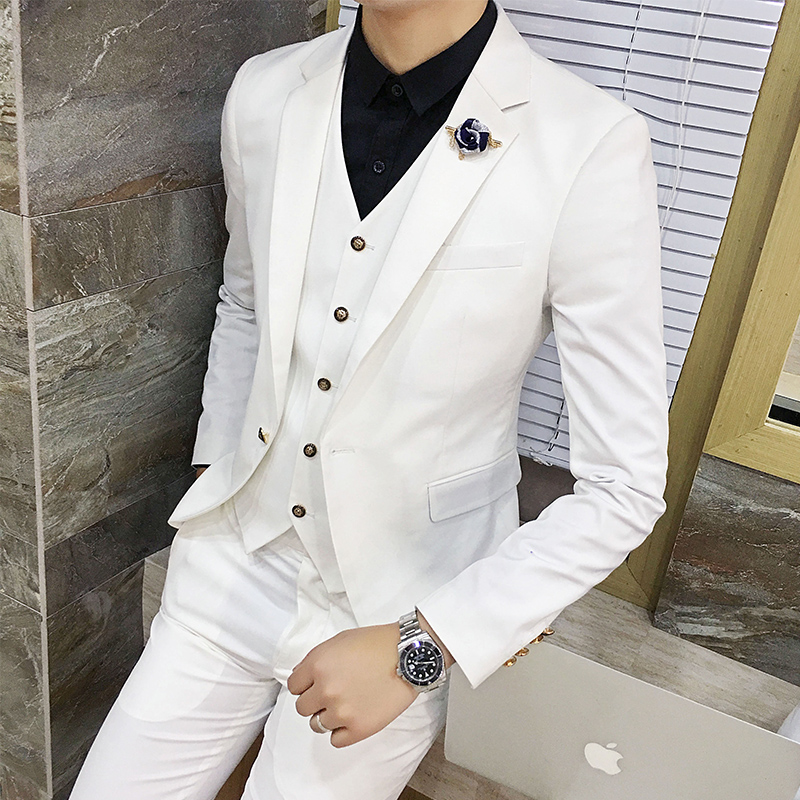Color: White suit