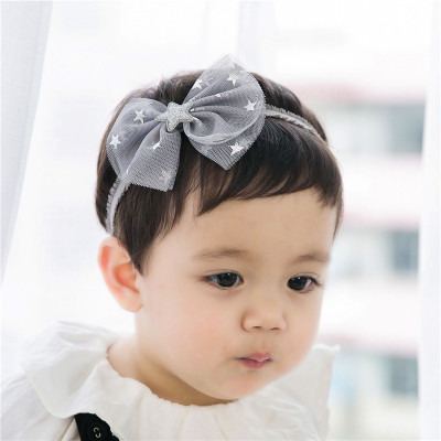 Color classification: Bow lace star grey