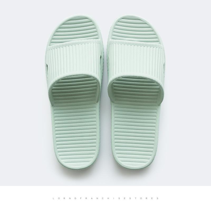 良橙夏天浴室家居塑料拖鞋女 居家室内软底防滑洗澡情侣凉拖鞋男