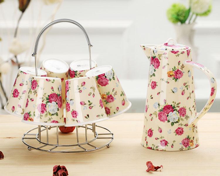 Цвет: Цветочный душ питьевая посуда