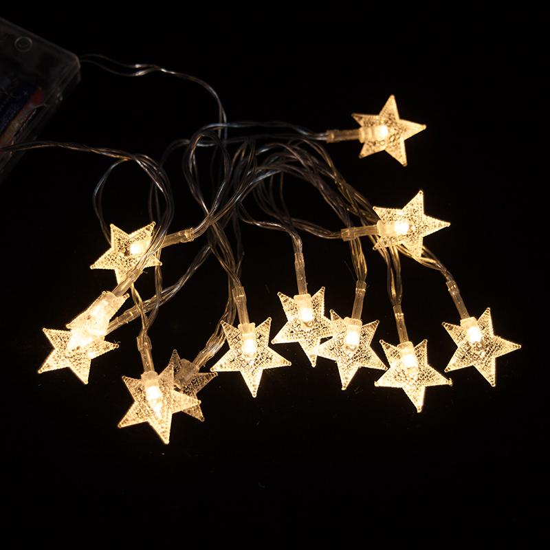 Цвет: 3 метра маленькие звезды (необходимо привезти с собой 5 аккумуляторов)