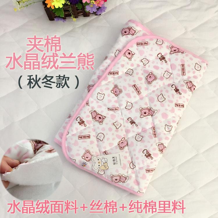 Цвет: (Клип) хлопок розовый медведь осень/зима ватки ткани