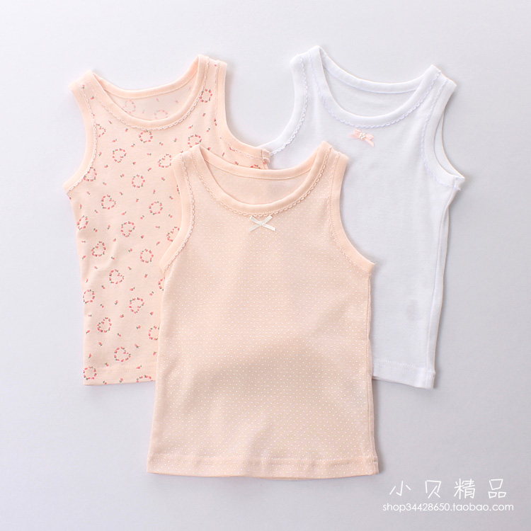 Color classification: Love/dot/white 3 piece vest