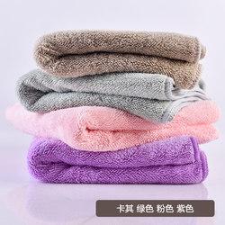 【天天特价】4条装成人超吸水毛巾柔软 速干干发巾洗脸手巾美容院
