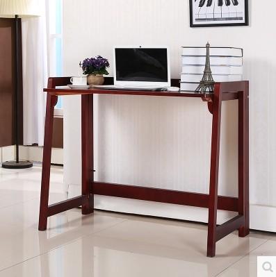【依福尔森木官网】现代简约实木电脑桌学习桌简易桌