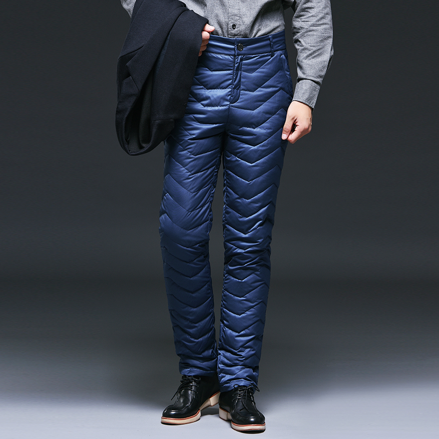 Color classification: Navy Blue business business wind wind down pants