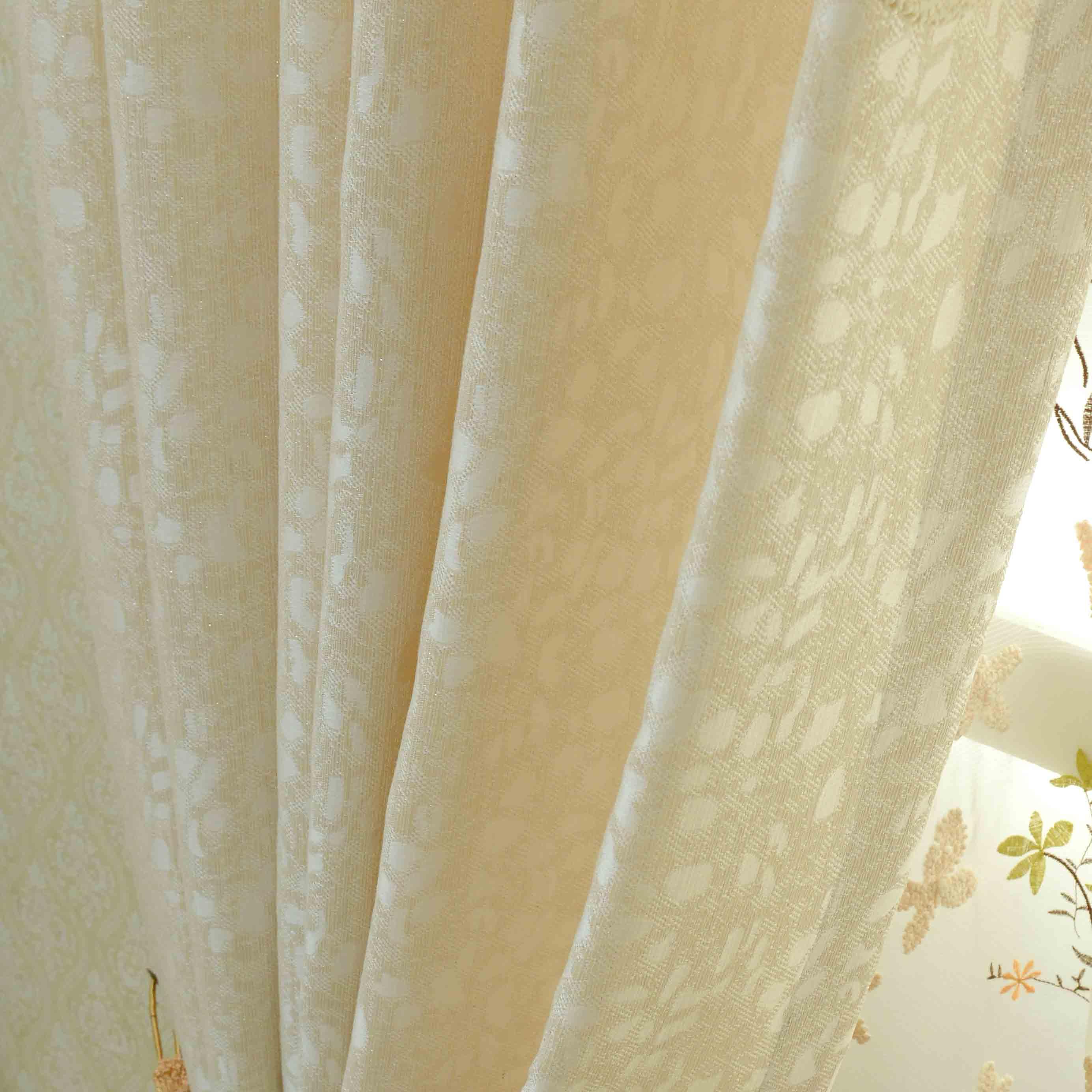 【布之家官网】欧式田园定制窗帘布客厅卧室半遮光