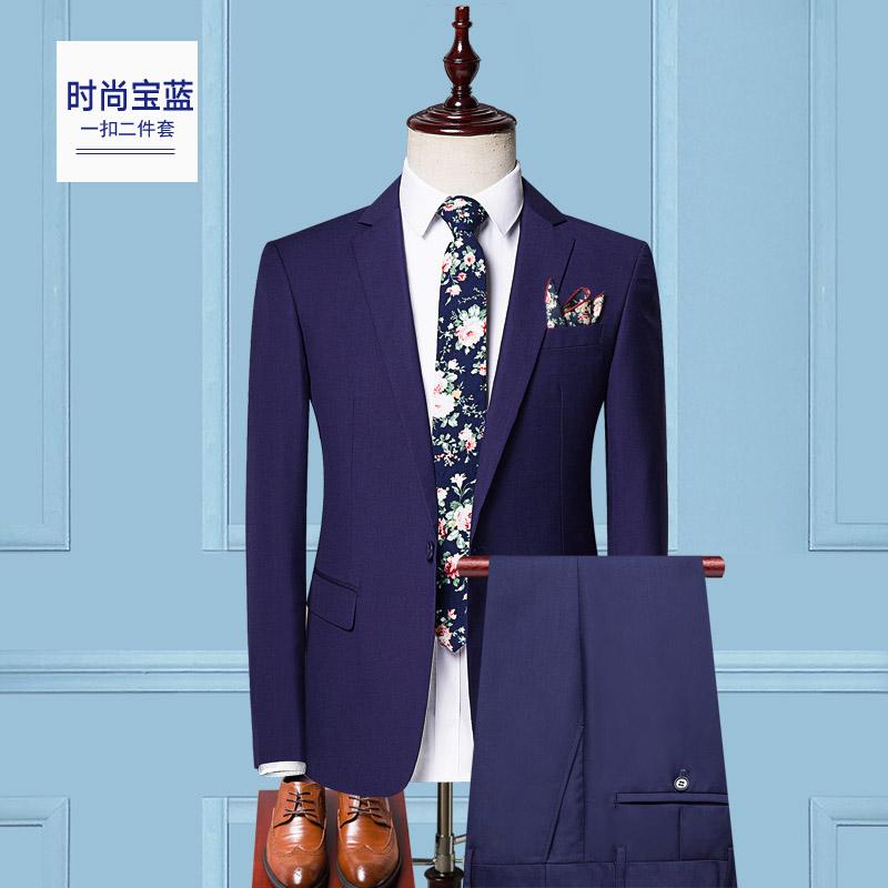 Цвет: Один пряжкой моды сапфирового синего (костюм)