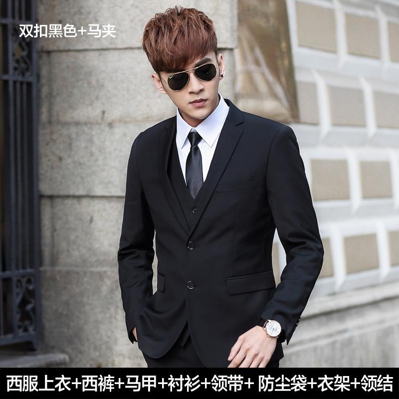 Color: Suit/double buckle black