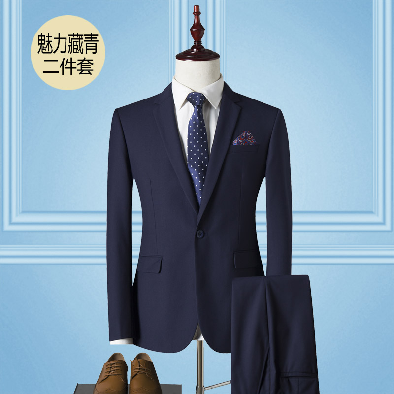 Color: Single snap charm Navy blue(suits)
