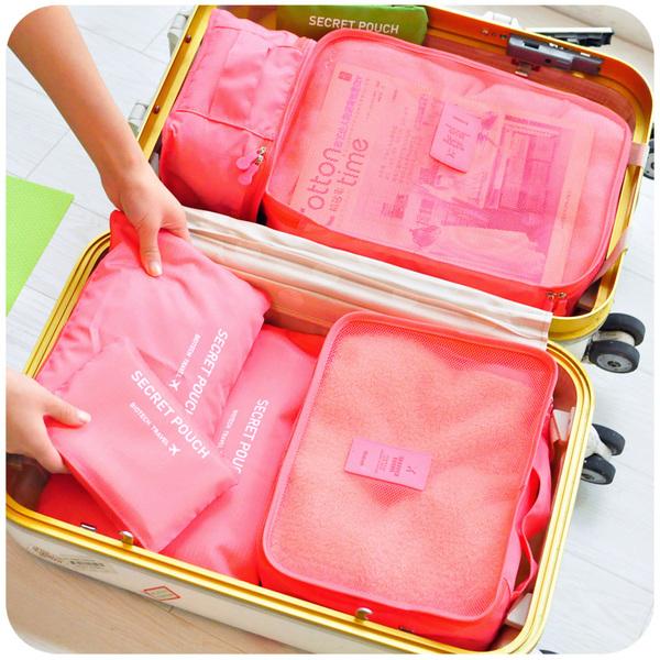 旅行收納袋套裝 旅遊必備神器行李箱內衣整理袋收納 ...