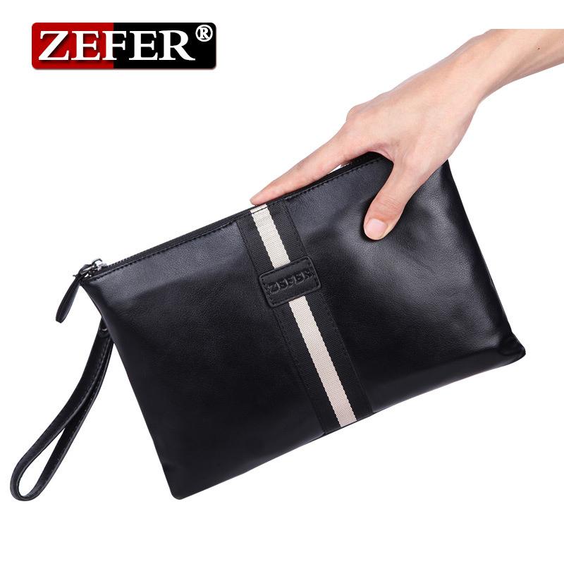 03黑色zefer/ol男包單肩包背包拉鏈韓版青年公文包小男士cz017