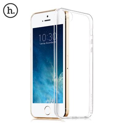 浩酷iphone5s手机壳矽胶苹果5s透明保护套边框超薄防