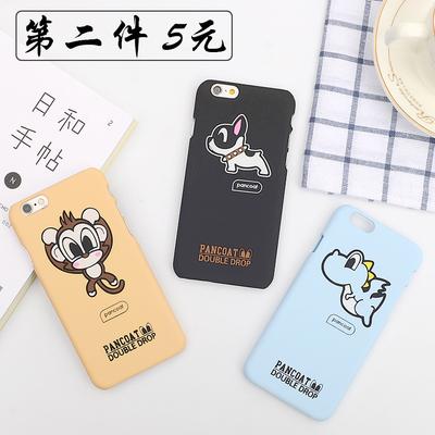 卡通动物可爱韩国女款苹果6plus手机壳iphone6s潮牌5