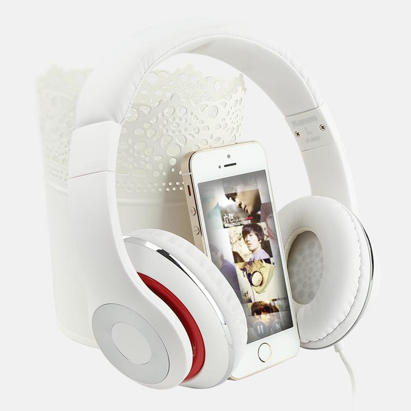 苹果5s6s乐视手机耳机头戴式高音质重低音oppo小米4唱歌线控耳麦