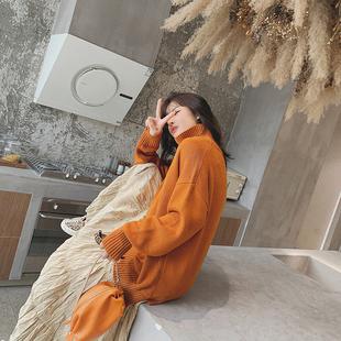 superjoy【12.29年度终极大上新】冬款加厚百搭七色高领针织毛衣