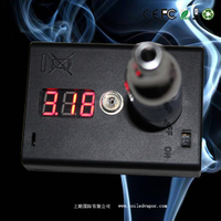 Electronic smoke detector, resistance tester, tester, Ohm tester