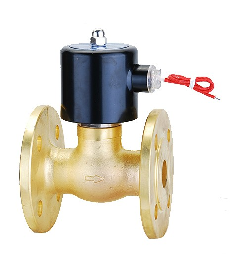 Manufacturers of ZQDF-25F steam solenoid valve direct acting piston type 1 inch DN25220V/DC24V flange