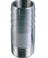 304 stainless steel pipe joint, water pipe joint, pagoda joint, round pipe skin pipe joint DN103/83 points