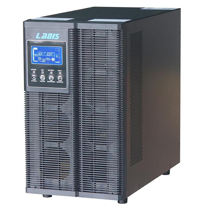 10KVA8000W standby delay 1 hours online UPS power supply LADISG10KLLCD