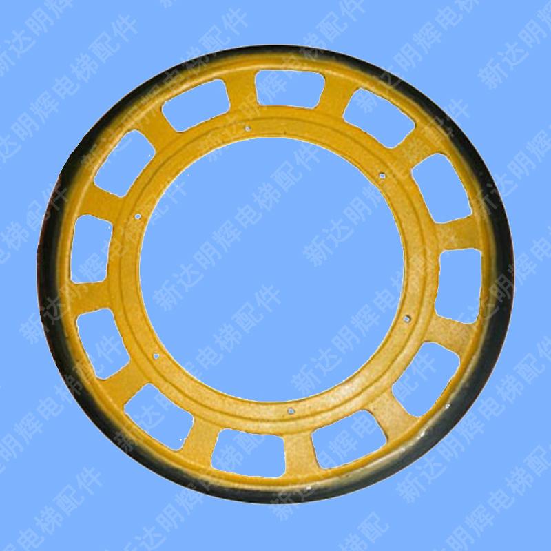 elevator fittings / dele / friktion hjul / gummi friktion hjul xunda / kone 588*30