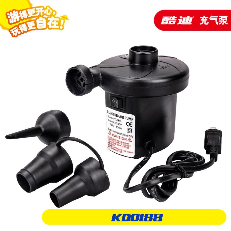 домакински изделия с двойна употреба на превозното средство, 12v 220v електрическа помпа вакуум, съдържащи сгъстен чанта на помпата, плува в кръг
