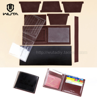 19WT short wallet package a semi-finished leather wallet photo DIY manual leather tanned leather leather WT