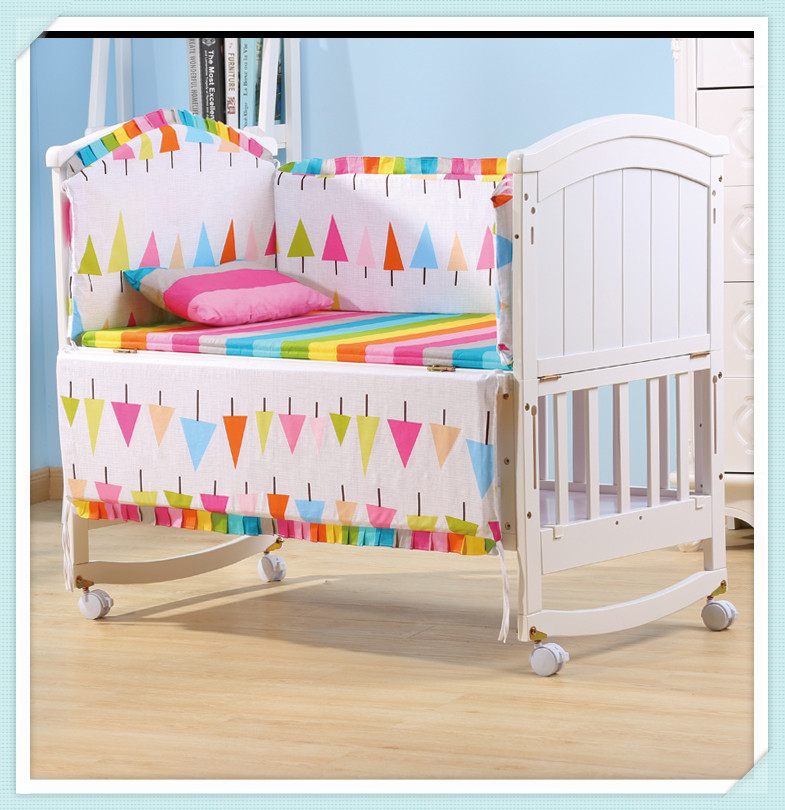 Το μωρό το κρεβάτι γύρω από τα παιδιά να μπορούν να πλένονται βαμβάκι καθ 'όλη τη διάρκεια του έτους της κρεβάτι μωρό κλινοσκεπάσματα βαμβάκι