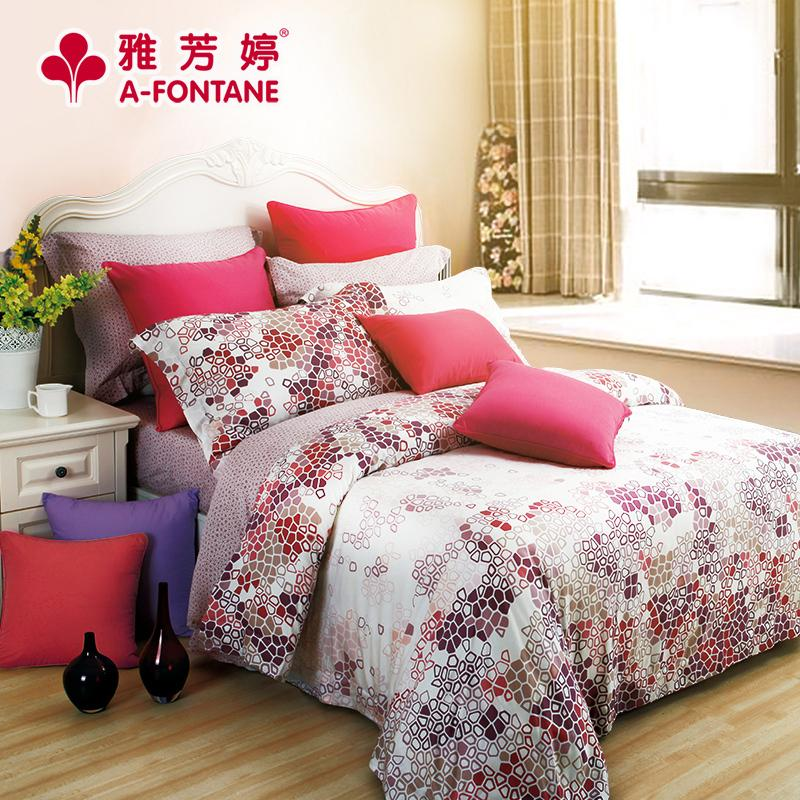 Modern silk bedspread fitted four pieces of sets of modal silk bedding Tencel naked