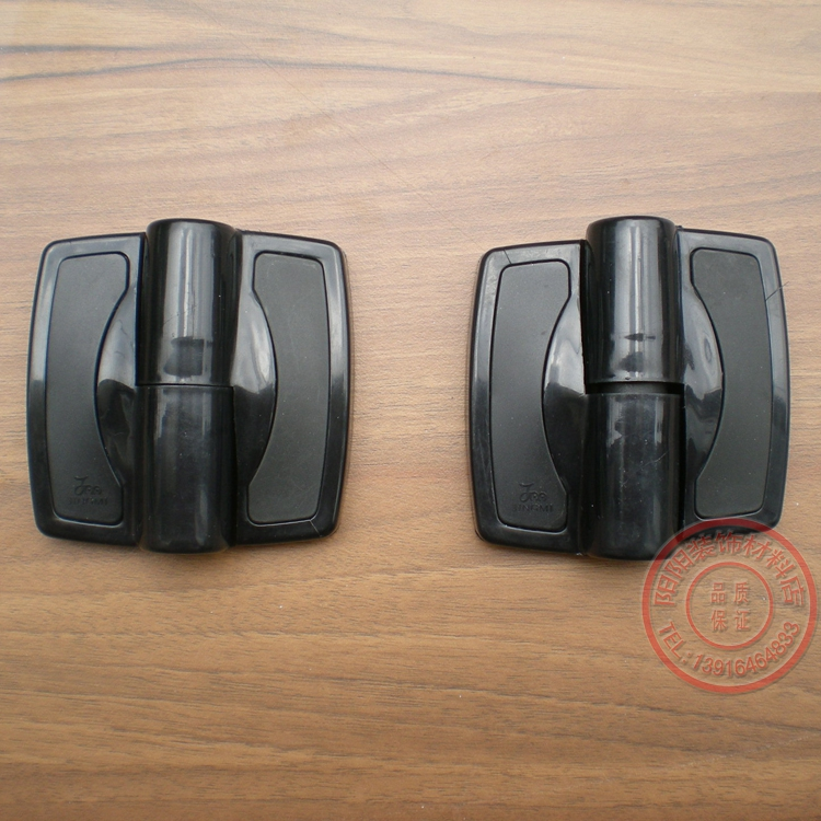 Auténtico baño de precisión la partición de Rose 龙纯 nylon plástico bisagras.