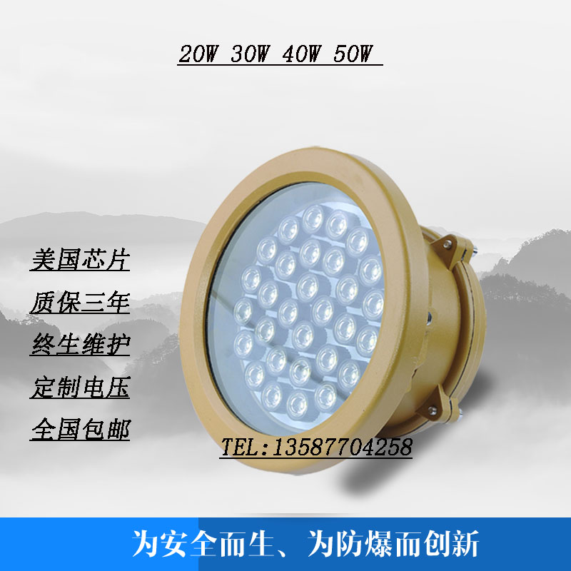 Ex - LED - Lampe 50WLED explosionssichere lampen 40W wartungsfreien Led - Lampe 30w Warehouse Lampe 20W