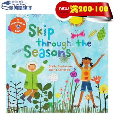 原版英文启蒙韵文Skip through the Seasons