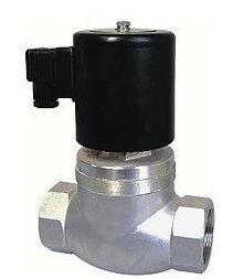 El hilo de acero inoxidable de alta temperatura en el solenoide de la válvula de vapor válvula electromagnética de frecuencia cierre abre la válvula solenoide DN206 puntos.